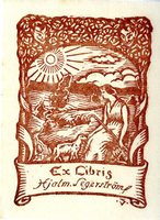 Hjalm Segerstromf Bookplate