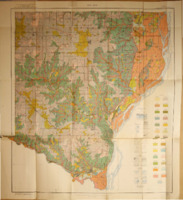 1925 - Soil Map of Des Moines County Soil Survey of Des Moines County Map