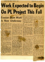 Work to begin on PL project in Fall.