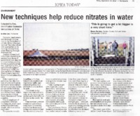 New Techniques Help Reduce Nitrates In Water