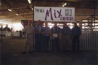 1999- Award recipients at the Ag Expo at Southwastern Community College in West Burlington, Iowa on September 1, 1999