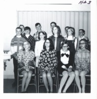 Speech contestants, 1969
