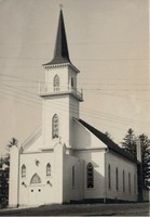 St. Paul Lutheran Church in Garnavillo, Iowa -1953