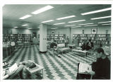 Serials Department in Main Library, the University of Iowa, April 1970