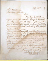 68. Iowa Gov. William M. Stone to Lincoln on forthcoming visit to Washington by George E. Conwell
