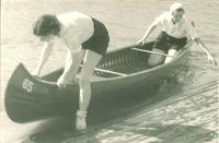 Canoeing, The University of Iowa, 1930s