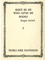 Flora Neil Davidson Bookplate