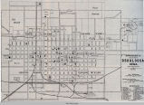Oskaloosa, IA, 1890 map; Lincoln Township; Mahaska County; Iowa