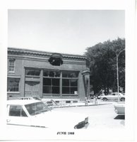 Beem Impl where post office now stands, 1968