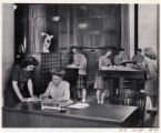 Ida Robertson and Kathryn Renfro, 1945