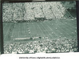 Iowa-Illinois football game at Kinnick Stadium, The University of Iowa, October 8, 1949