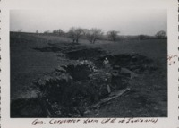 Shaping a gully on George Carpenter's farm NE of Indianola, Iowa.