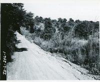 Road structure site, 1967