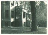 East Hall entrance portico of Seashore Hall, the University of Iowa, 1920s