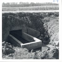 Chester Gray farm water control structure, 1962