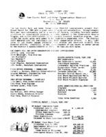 060 Annual Report, 1987