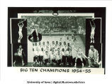 Basketball big ten champions, The University of Iowa, 1954-1955