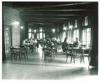 Students in Iowa Memorial Union, the University of Iowa, 1950s?