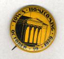 Homecoming badge, October 19, 1929