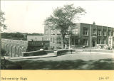 University High School, now called North Hall, viewed from the southeast, The University of Iowa, 1920