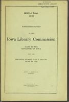 15. Fifteenth Report of the Iowa Library Commission
