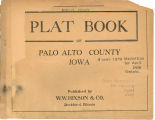 Plat book of Palo Alto County, Iowa