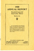 1950 Poweshiek County Soil and Water Conservation District Annual Report