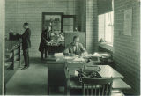 General office of the Chemistry Building, The University of Iowa, 1930s