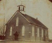 St. Joseph's Catholic Church in Garnavillo, Iowa -1876