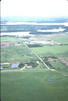 Aerial Photo of Chet Miller's Farmland.