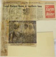 1963 - Trefoil Pasture  Boom in Southern Iowa