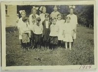 Orient, Iowa Rural School Children