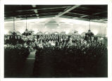 University Orchestra and Choir performance of the Messiah in Iowa Memorial Union, The University of Iowa, December 1936