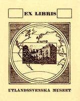 Utlandssvenska Museet Bookplate