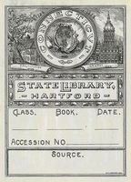 Connecticut State Library bookplate