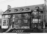 Beta Theta Pi fraternity house, Iowa City, Iowa, ca. 1980