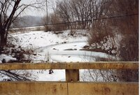 1999 - Flint Creek stream bank stabilized on Robert Yeager Property