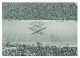 University of Iowa Scottish Highlanders performance at Kinnick Stadium, 1970s?