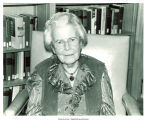 Anna Lomas at the Herbert Hoover Presidential Libary, West Branch, Iowa, August 9, 1983