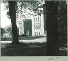 Chemistry-Botany-Pharmacy Building seen from the east, The University of Iowa, 1930s