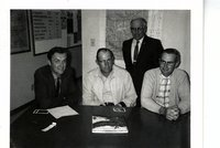 Ken Bruene, Les Lenhart, Harry Scurr, and Harold Higgins
