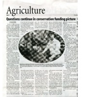 Questions continue in conservation funding picture