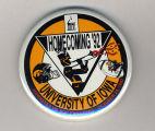 Homecoming badge, October 24, 1992