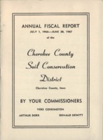 Cherokee County Soil Conservation District Annual Report - 1967