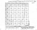 Iowa land survey map of t092n, r042w