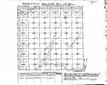 Iowa land survey map of t098n, r043w
