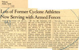 Lots of former Cyclone athletes now serving with armed forces