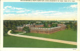 The Quadrangle men's dormitory, The University of Iowa, 1930