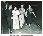 Hick Hawks country dancing club, The University of Iowa, 1940s