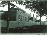 West side of Art Building, the University of Iowa, September 1941